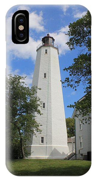 Sandy Hook Lighthouse Tower IPhone Case