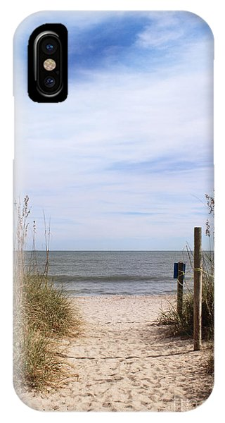 Sandy Path Leading To Beach IPhone Case