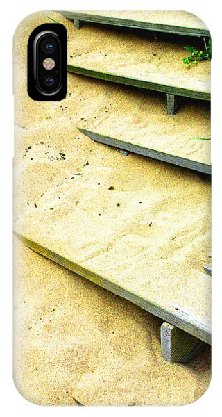 Sandy  Steps IPhone Case