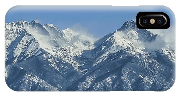 Sangre De Cristo Fourteeners IPhone Case