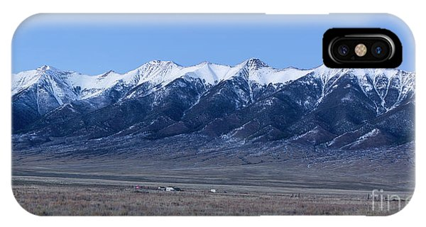 Sangre De Cristo iPhone Case - Sangre De Cristo Mountains In Evening by Twenty Two North Photography