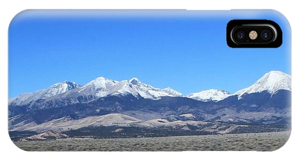 Sangre De Cristo Range IPhone Case