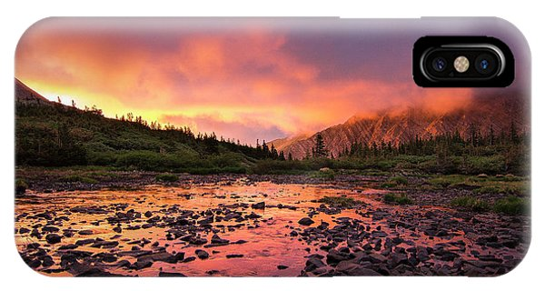 Sangre De Cristo iPhone Case - Sangre De Cristo Sunset   by Aaron Spong