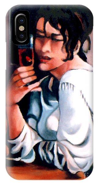 Sangria Lady IPhone Case
