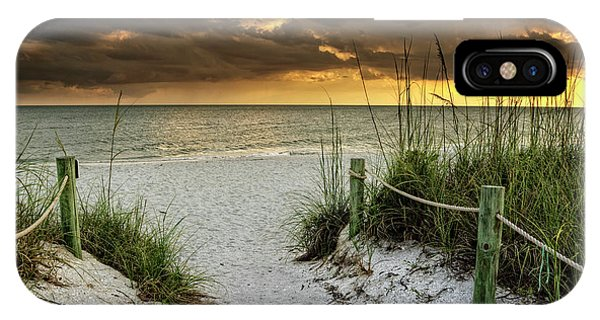 Sanibel Island Beach Access IPhone Case