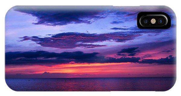 Sanibel Sunset IPhone Case