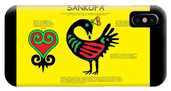 Sankofa Knowledge IPhone Case