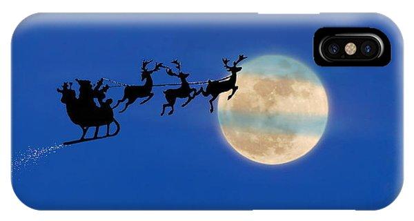 Santa 1 IPhone Case