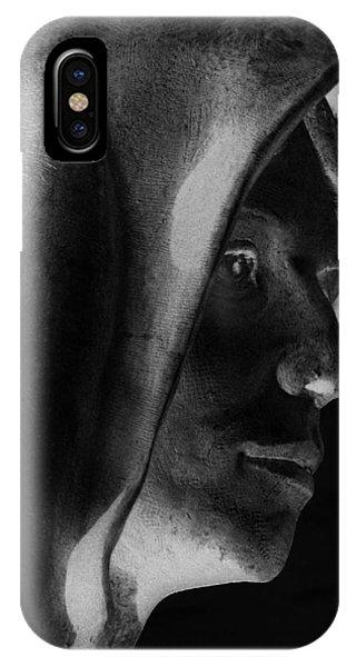 Santa Angela  IPhone Case