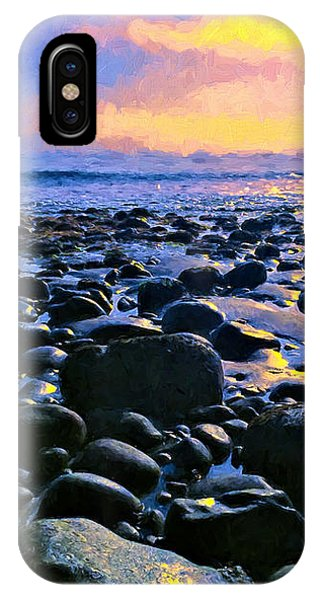 Santa Barbara Beach Sunset California IPhone Case