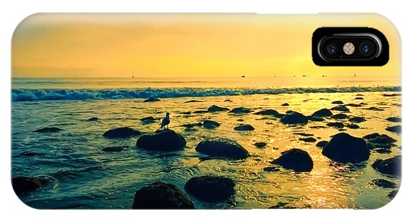 Santa Barbara California Ocean Sunset IPhone Case