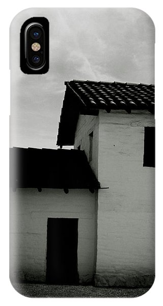 Santa Barbara Presidio 3- Art By Linda Woods IPhone Case