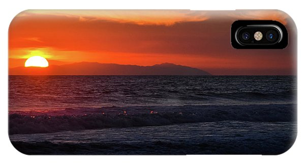 Santa Catalina Island Sunset IPhone Case