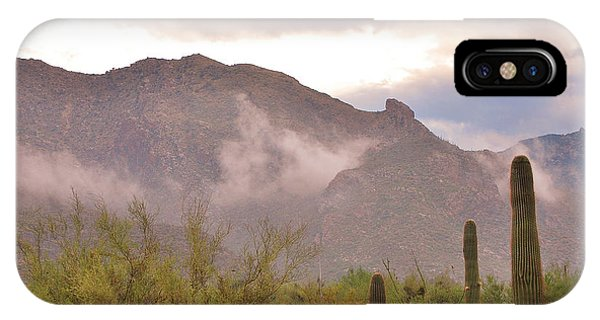 Santa Catalina Mountains II IPhone Case