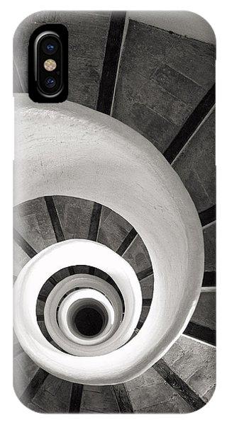 Santa Catalina Spiral Staircase IPhone Case