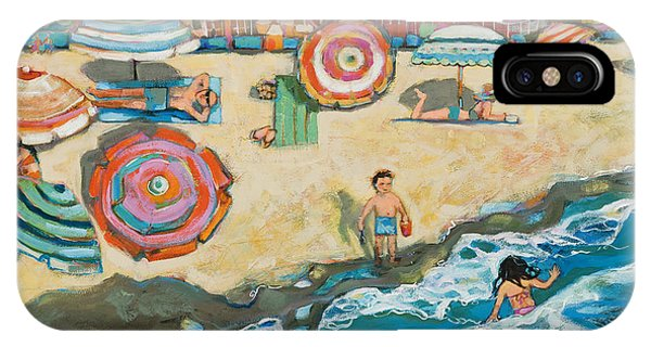 California iPhone Case - Santa Cruz Beach Boardwalk by Jen Norton