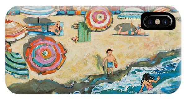 California iPhone Case - Santa Cruz Beach Boardwalk by Jen Norton