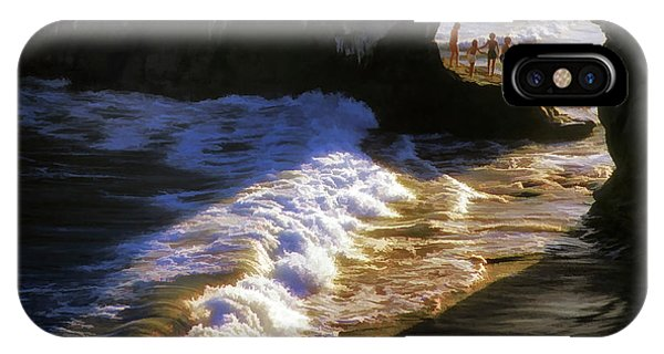 Santa Cruz 'bridge' California Coastline IPhone Case
