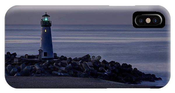 Walton Lighthouse Early Morning IPhone Case
