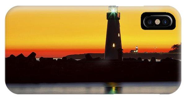 Santa Cruz Lighthouses IPhone Case