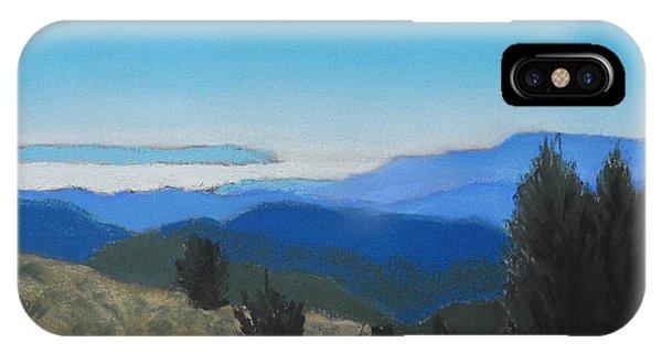 Santa Cruz Mountains Looking To Monterey Bay IPhone Case