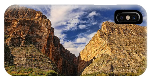 Santa Elena Canyon 3 IPhone Case