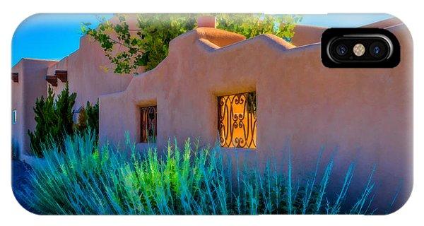 Santa Fe Adobe IPhone Case