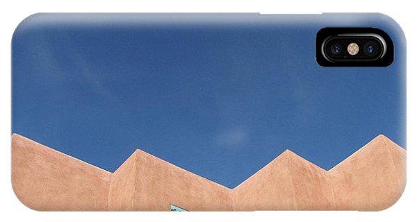 Santa Fe Angles, Blue Sky IPhone Case