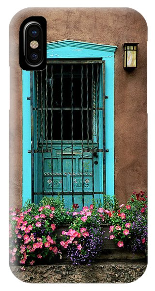 Santa Fe Door #1 IPhone Case
