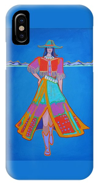 Santa Fe Girl  IPhone Case