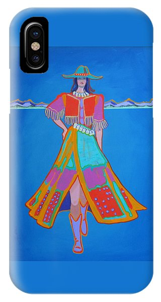 Santa Fe Girl  IPhone Case