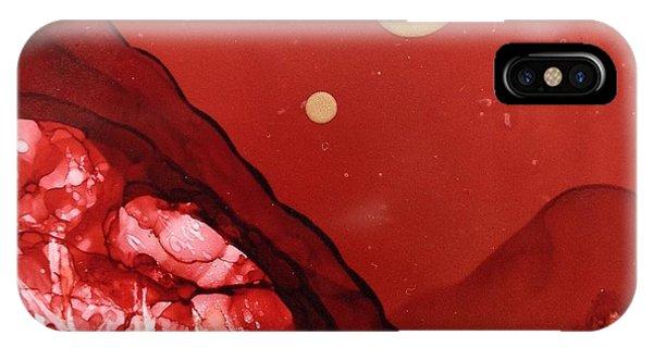 Santa Fe Moonrise IPhone Case