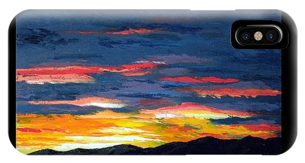 Santa Fe Southside Sunrise IPhone Case
