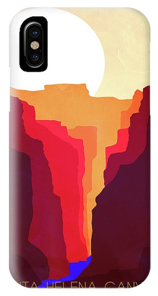 Sunrise iPhone Case - Santa Helena Canyon 1  by Diana Van