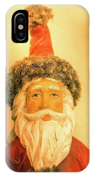 Santa Is Watching IPhone Case