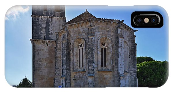 Santa Maria Do Carmo Church In Lourinha. Portugal IPhone Case