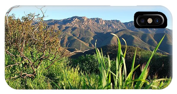 Santa Monica Mountains Green Landscape IPhone Case