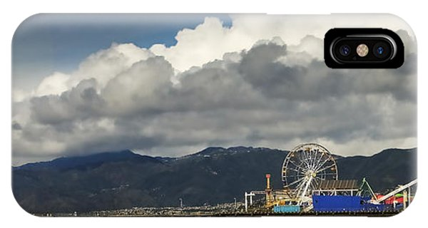 Santa Monica Pier Pan IPhone Case