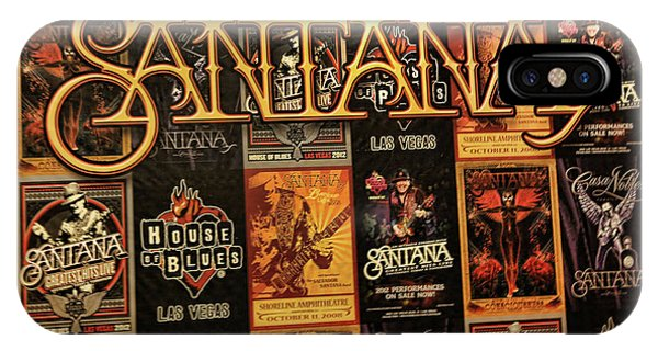 Santana House Of Blues IPhone Case
