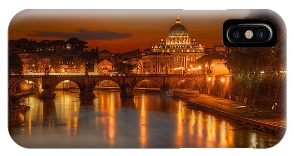 Sant'angelo Bridge IPhone Case