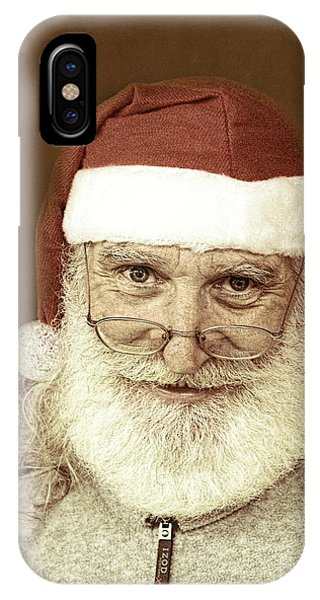 Santa's Day Off IPhone Case