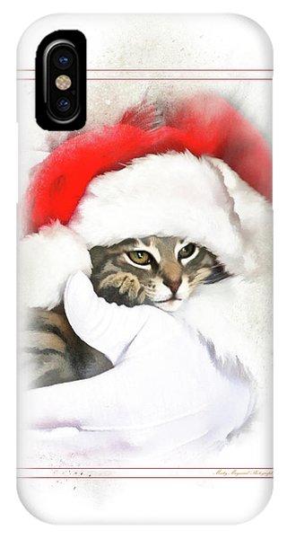 Santa's Helper IPhone Case