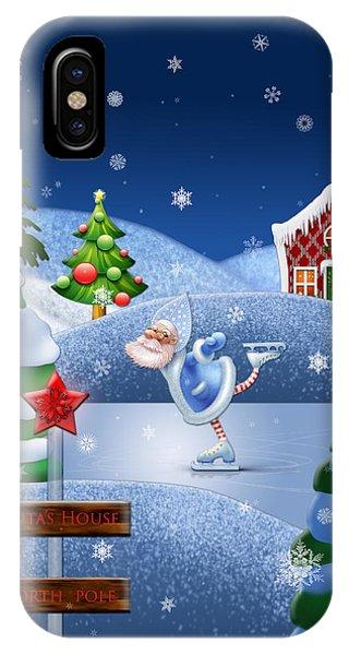 Santa's House - North Pole  IPhone Case