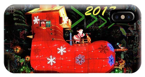 Santa's Magic Stocking IPhone Case