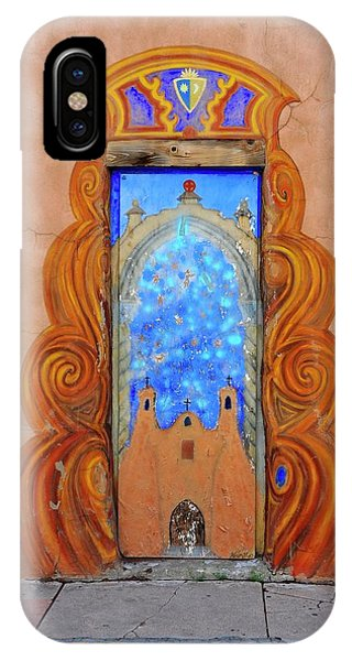 iPhone Case - Sante Fe Door by Vince McCall