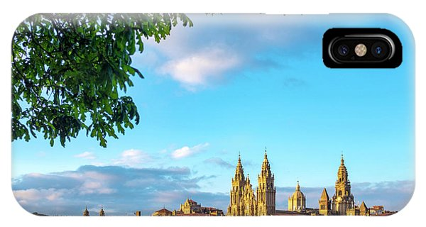 IPhone Case featuring the photograph Santiago De Compostela Cathedral by Fabrizio Troiani