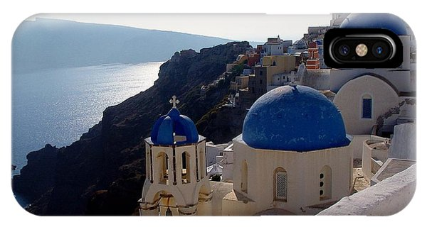 Santorini Greece IPhone Case