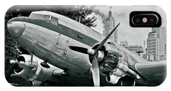 Classic Aircraft Douglas Dc-3 IPhone Case