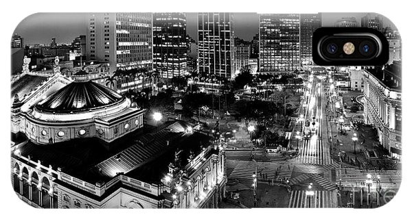Sao Paulo Downtown - Viaduto Do Cha And Around IPhone Case