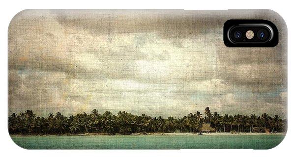 Saona Island , Santo Domingo IPhone Case